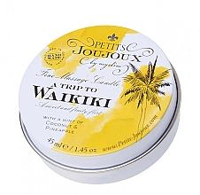 Parfumuri și produse cosmetice Lumânare pentru masaj cu parfum Pina Colada - Petits JouJoux Mini A Trip To Waikiki