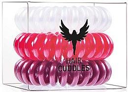 Parfumuri și produse cosmetice Elastic de păr - HH Simonsen Hair Cuddles Red, Dark Red, Pearl