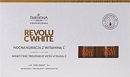 Parfumuri și produse cosmetice Concentrat facial de noapte cu vitamina C - Farmona Professional Revolu C White