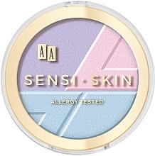 Parfumuri și produse cosmetice Pudră de față 3 în 1 - AA Sensi Skin 3In1 Holographic Set