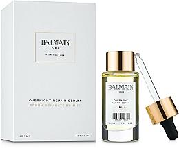 Parfumuri și produse cosmetice Ser pentru regenerarea părului  - Balmain Paris Hair Couture Overnight Repair Serum