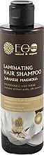 """Parfumuri și produse cosmetice Șampon iluminant """"Magnolia japoneză"""" - ECO Laboratorie Laminating Hair Shampoo"""