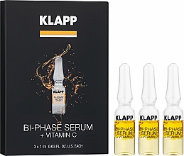 "Parfumuri și produse cosmetice Ser bifazic ""Vitamina C"" - Klapp Bi-Phase Serum Vitamin C"