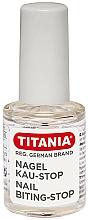 Parfumuri și produse cosmetice Lac împotriva roaderii unghiilor - Titania Nail Biting-Stop