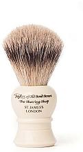 Parfumuri și produse cosmetice Pămătuf de ras, S2233 - Taylor of Old Bond Street Shaving Brush Super Badger size S