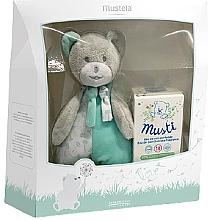 Parfumuri și produse cosmetice Mustela Musti - Set (edt/50ml + toy)