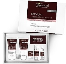 Parfumuri și produse cosmetice Set - Bielenda Professional Power Of Nature (mask/150ml+scrub/150g+ cr/50ml+serum/30ml)