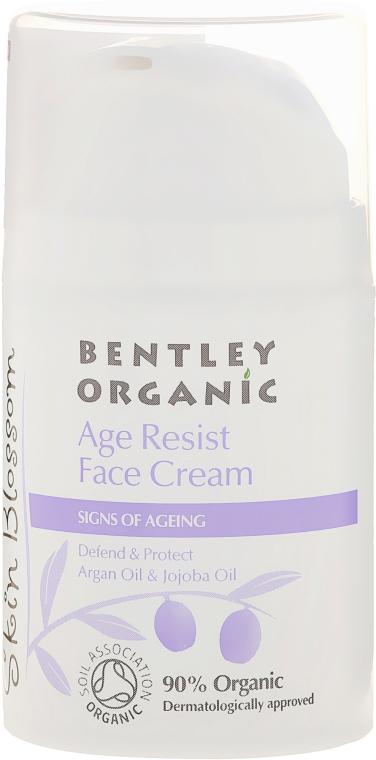 Cremă de față - Bentley Organic Skin Blossom Age Resist Face Cream — Imagine N1