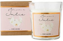 """Parfumuri și produse cosmetice Lumânare parfumată """"Orhidee"""" - Ambientair Le Jardin de Julie Orchidee"""