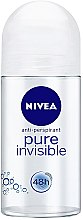 "Parfumuri și produse cosmetice Deodorant Roll-On ""Protecție"" - Nivea Invisible Deodorant Roll-on"