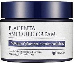 Parfumuri și produse cosmetice Cremă anti-îmbătrânire de zi pentru față - Mizon Placenta Ampoule Cream