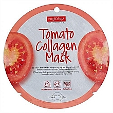 Parfumuri și produse cosmetice Mască de colagen - Purederm Tomato Collagen Mask