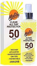 Parfumuri și produse cosmetice Spray cu protecție solară - Malibu Clear All Day Protection SPF 50