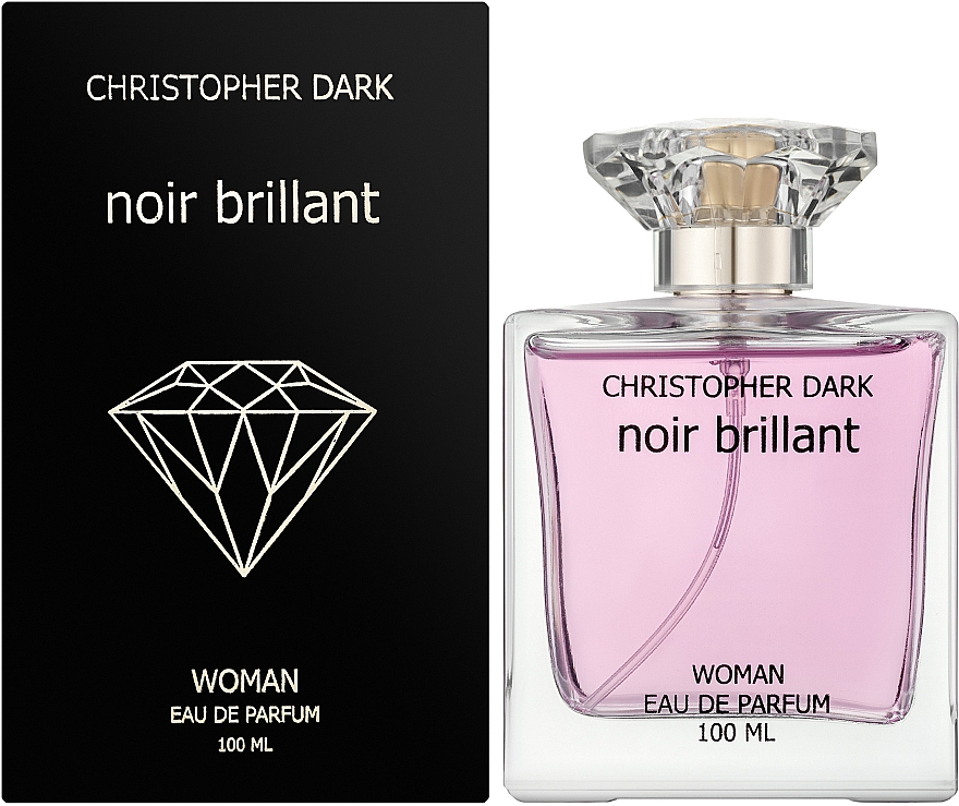 Christopher Dark Noir Brillant - Apă de parfum — Imagine N2