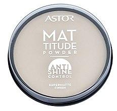 Parfumuri și produse cosmetice Pudră de față - Astor Mattitude Anti Shine Powder