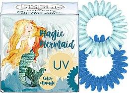 Parfumuri și produse cosmetice Elastic de păr, 3 bucăți - Invisibobble Original Ocean Tango