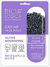 """Parfumuri și produse cosmetice Mască cu icre negre pentru față """"Nutriție activă"""" - Biologica Caviar"""