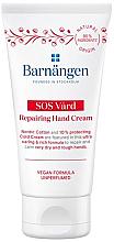 Parfumuri și produse cosmetice Cremă pentru pielea uscată și crăpată a mâinilor - Barnangen SOS Vard Repairing Cream