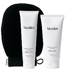 Parfumuri și produse cosmetice Set - Medik8 Smooth Body Exfoliating Kit (scr/150ml + lot/200ml + glove)