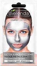 Parfumuri și produse cosmetice Mască-detox pentru pielea grasă și combinată - Bielenda Silver Detox Metallic Mask