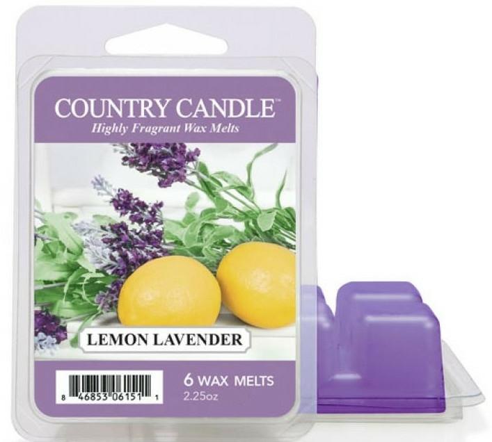 Ceară aromată - Country Candle Lemon Lavender Wax Melts — Imagine N1