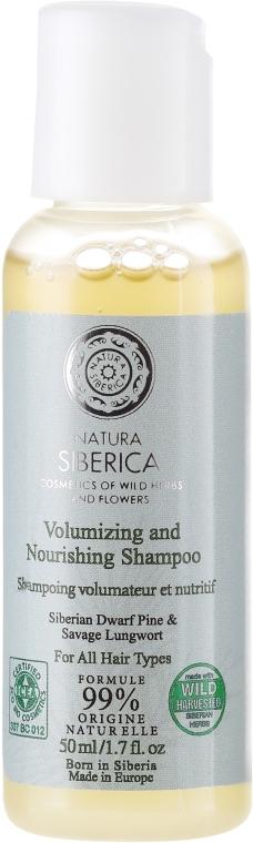 """Șampon pentru toate tipurile de păr """"Volumul și tratament"""""""" - Natura Siberica — Imagine N1"""
