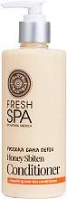 Balsam Bio pentru păr - Natura Siberica Fresh Spa Russkaja Bania Detox Natural Repairing Hair Conditioner Honey Sbiten — Imagine N1