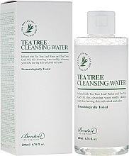 Parfumuri și produse cosmetice Apă de curățare pentru față - Benton Tea Tree Cleansing Water