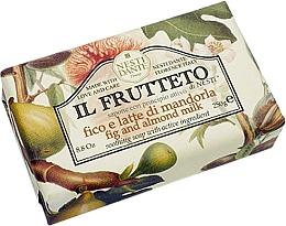 """Parfumuri și produse cosmetice Săpun """"Ficat și lapte de migdale"""" - Nesti Dante Il Frutteto Soap"""