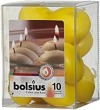 Parfumuri și produse cosmetice Set de lumânări decorative, galbene - Bolsius