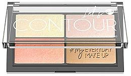 Parfumuri și produse cosmetice Paletă pentru conturarea feței - Bell Let's Contour Face Palette