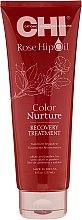 Parfumuri și produse cosmetice Mască cu ulei de trandafir și cheratină - CHI Rose Hip Oil Recovery Treatment