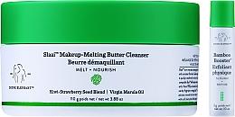 Parfumuri și produse cosmetice Soluție penru curățare - Drunk Elephant Slaai Makeup-Melting Butter Cleanser (cleanser/110g + booster/3g)