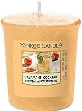 """Parfumuri și produse cosmetice Lumânare votivă aromatică """"Cocktail Calamansi"""" - Yankee Candle Calamansi Cocktail"""