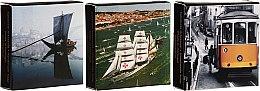 Parfumuri și produse cosmetice Set - Essencias de Portugal Live Portugal Collection (soap/3x50g)