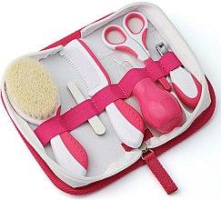 """Parfumuri și produse cosmetice Set pentru păr """"Kids"""", 0m+, roz - Nuvita"""