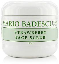 Parfumuri și produse cosmetice Scrub facial cu extract de căpșuni - Mario Badescu Strawberry Face Scrub