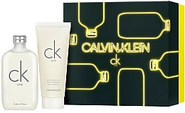 Parfumuri și produse cosmetice Calvin Klein CK One - Set (edt/200ml + b/lot/200ml)