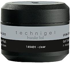 Parfumuri și produse cosmetice Gel de unghii - Peggy Sage Technigel Transfer Foil Gel (Clear)