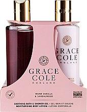 Parfumuri și produse cosmetice Set - Grace Cole Warm Vanilla & Sandalwood (sh/gel/300ml + b/lot/300ml)