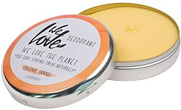 """Parfumuri și produse cosmetice Deodorant solid natural """"Original Orange"""" - We Love The Planet Deodorant Original Orange"""