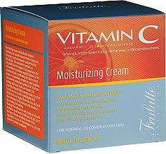 Parfumuri și produse cosmetice Cremă hidratantă cu vitamina C pentru față - Frulatte Vitamin C Moisturizing Cream