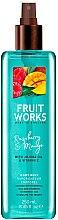 """Parfumuri și produse cosmetice Spray de corp """"Zmeură și mango"""" - Grace Cole Fruit Works Raspberry & Mango Body Mist"""