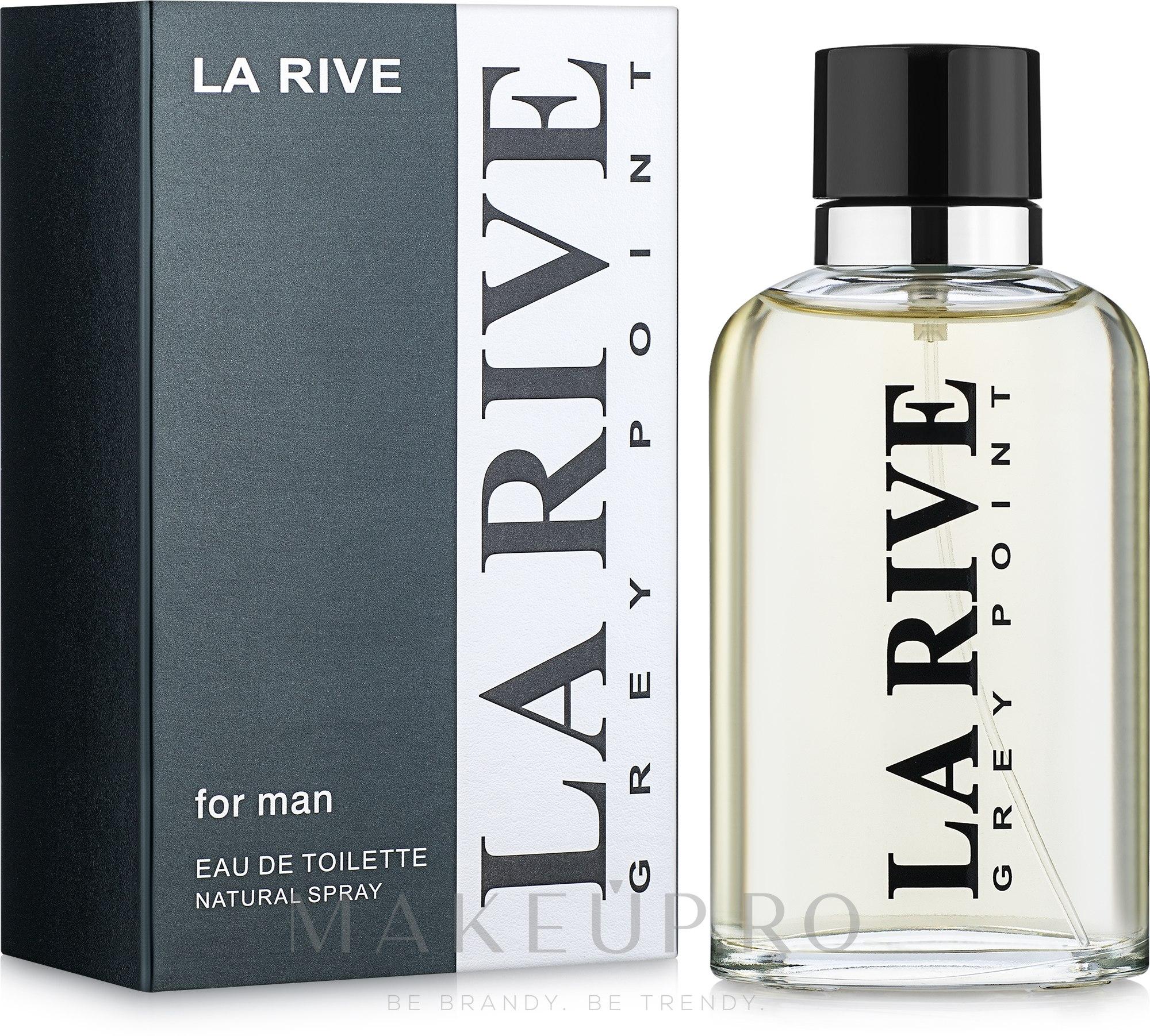 La Rive Grey Point - Apă de toaletă — Imagine 90 ml