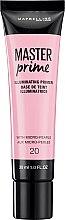 Parfumuri și produse cosmetice Bază hidratantă pentru machiaj - Maybelline Master Prime 20 Illuminating