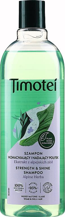 "Șampon ""Strălucire și prospețime"" - Timotei"