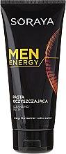 Parfumuri și produse cosmetice Pastă de curățare pentru față - Soraya Men Energy