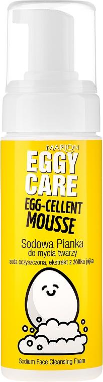 Spumă de curățare pentru față - Marion Egg-Cellent Mousse Eggy Care