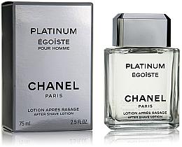 Chanel Egoiste Platinum - Loțiune după ras — Imagine N1