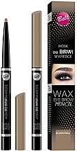 Parfumuri și produse cosmetice Creion cu ceară pentru sprâncene - Bell Wax Eye Brow Pencil